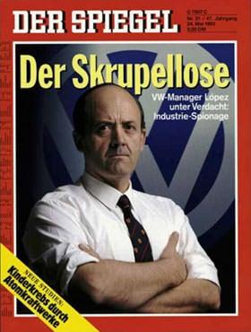 洛佩兹于1993年加盟大众