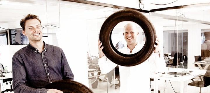 autobutler公司的创办人Peter Michael和Christian Legêne