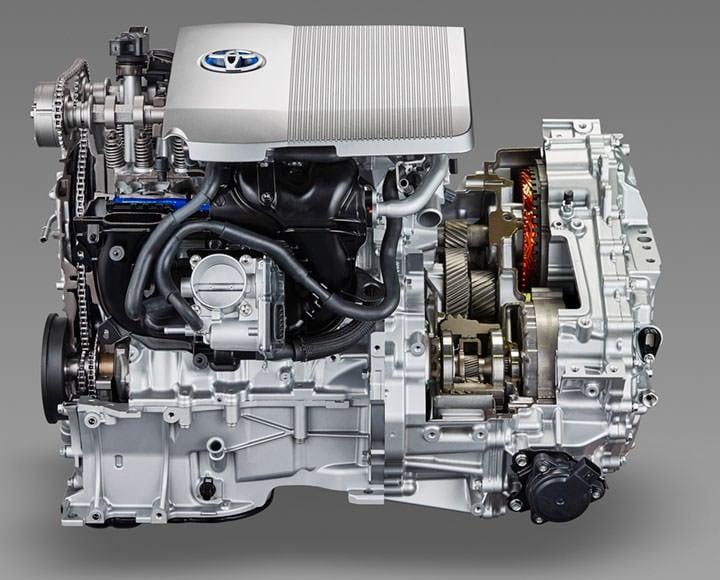 丰田普锐斯第四代驱动系统