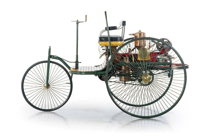 卡尔·本茨造世界第一辆汽车