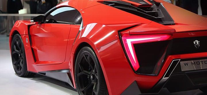 W Motors公司Lykan HyperSport车型