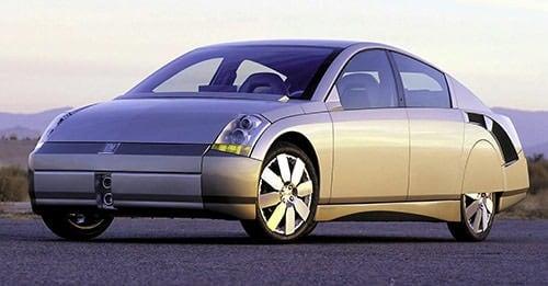 通用公司2000年发布的Precept概念车型,油耗为80 mpg